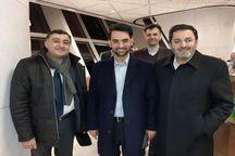 وزیر ارتباطات به باکو رفت