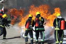 آتش سوزی انبار پوشاک در بازار تهران مهار شد