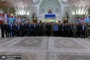 تجدید میثاق اقشار مردم و مسئولان با آرمان های امام راحل